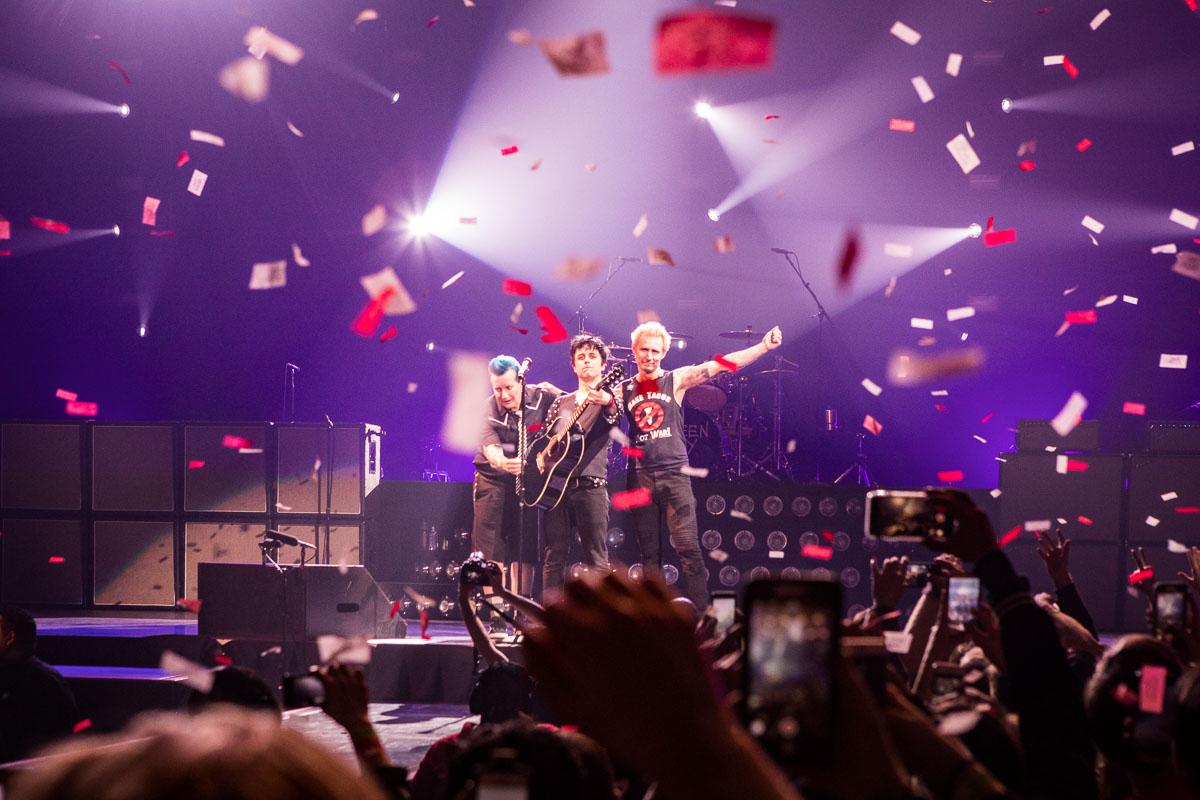 Green Day's 'Revolution Radio' Tour Wallops Barclays Center | Sachyn