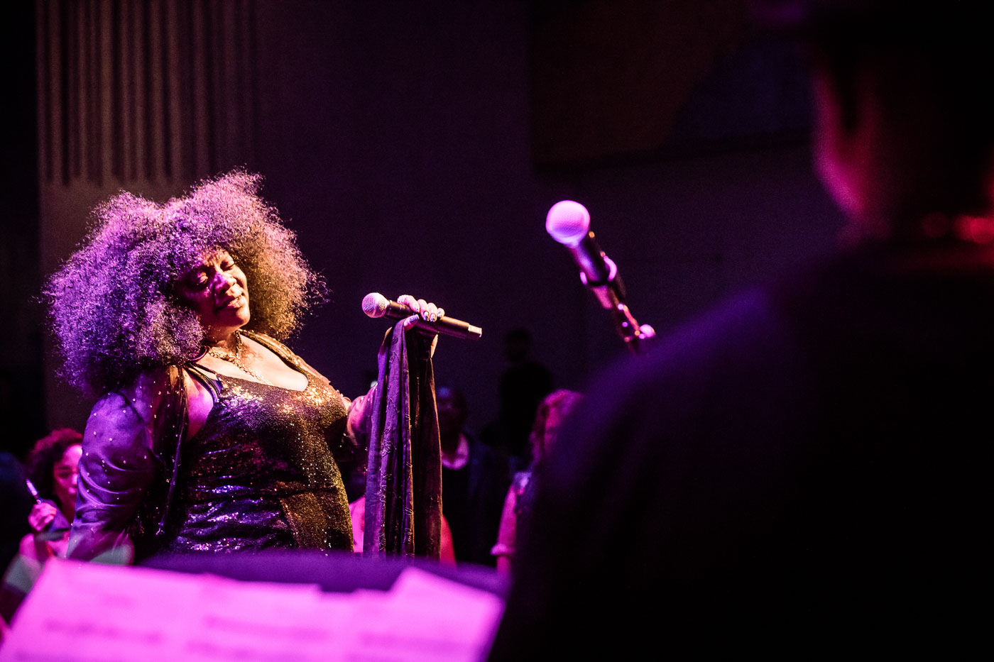 Thornetta Davis at David Rubenstein Atrium at Lincoln Center