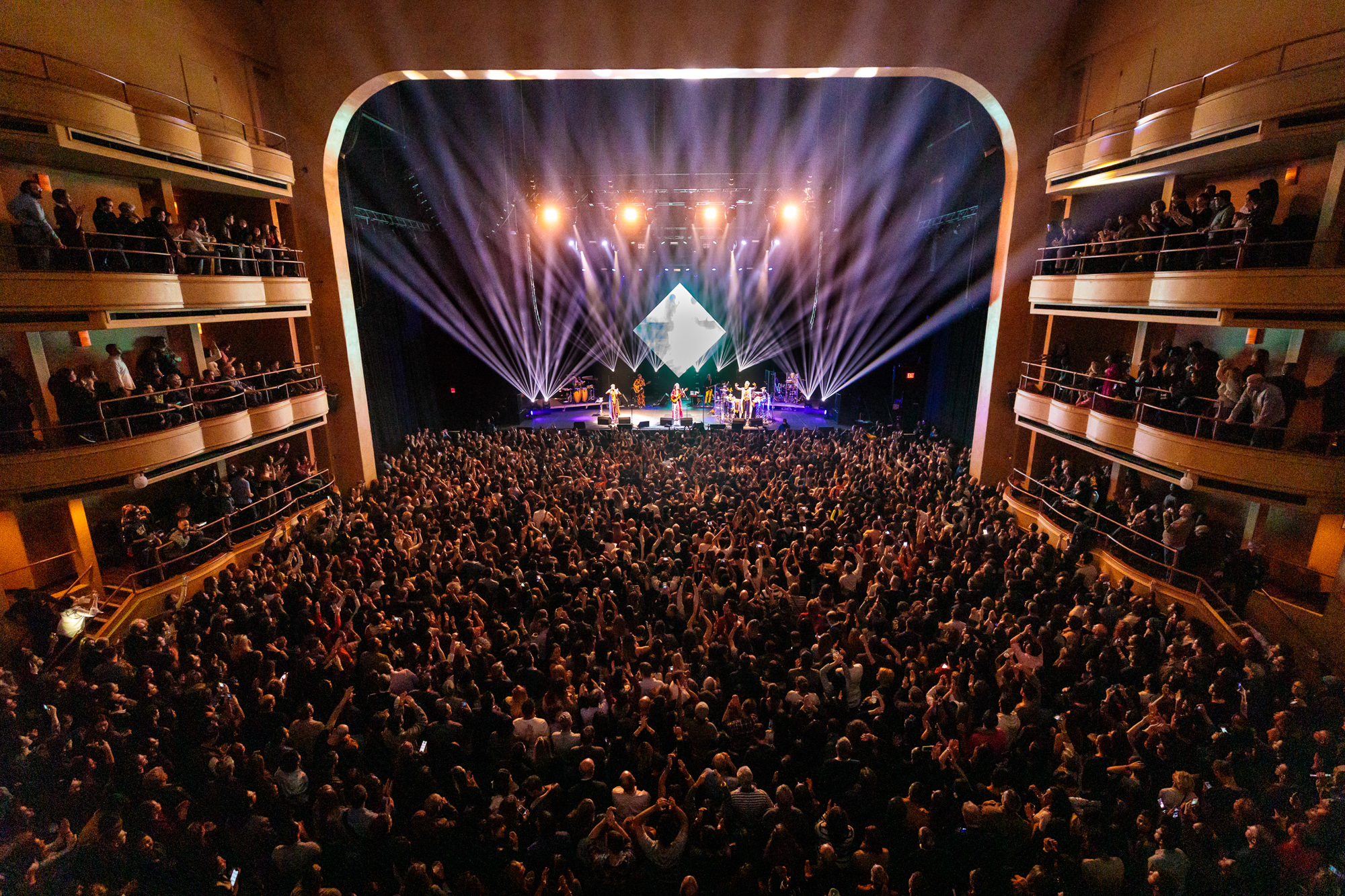 Tribalistas at Hammerstein Ballroom on February 5, 2019.