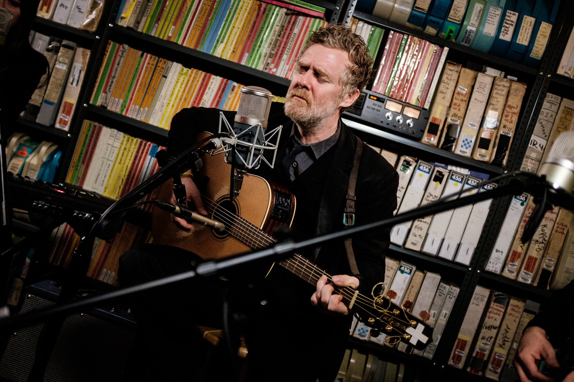 Glen Hansard at Paste Studios on March 26, 2019