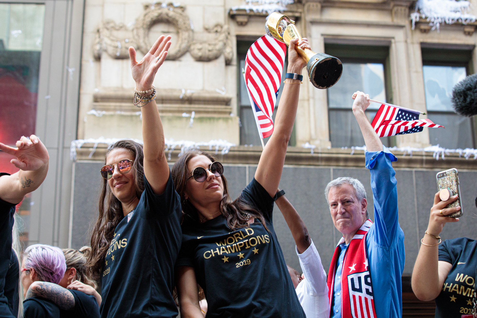 US Women's National Team Ticker Tape Parade July 10, 2019