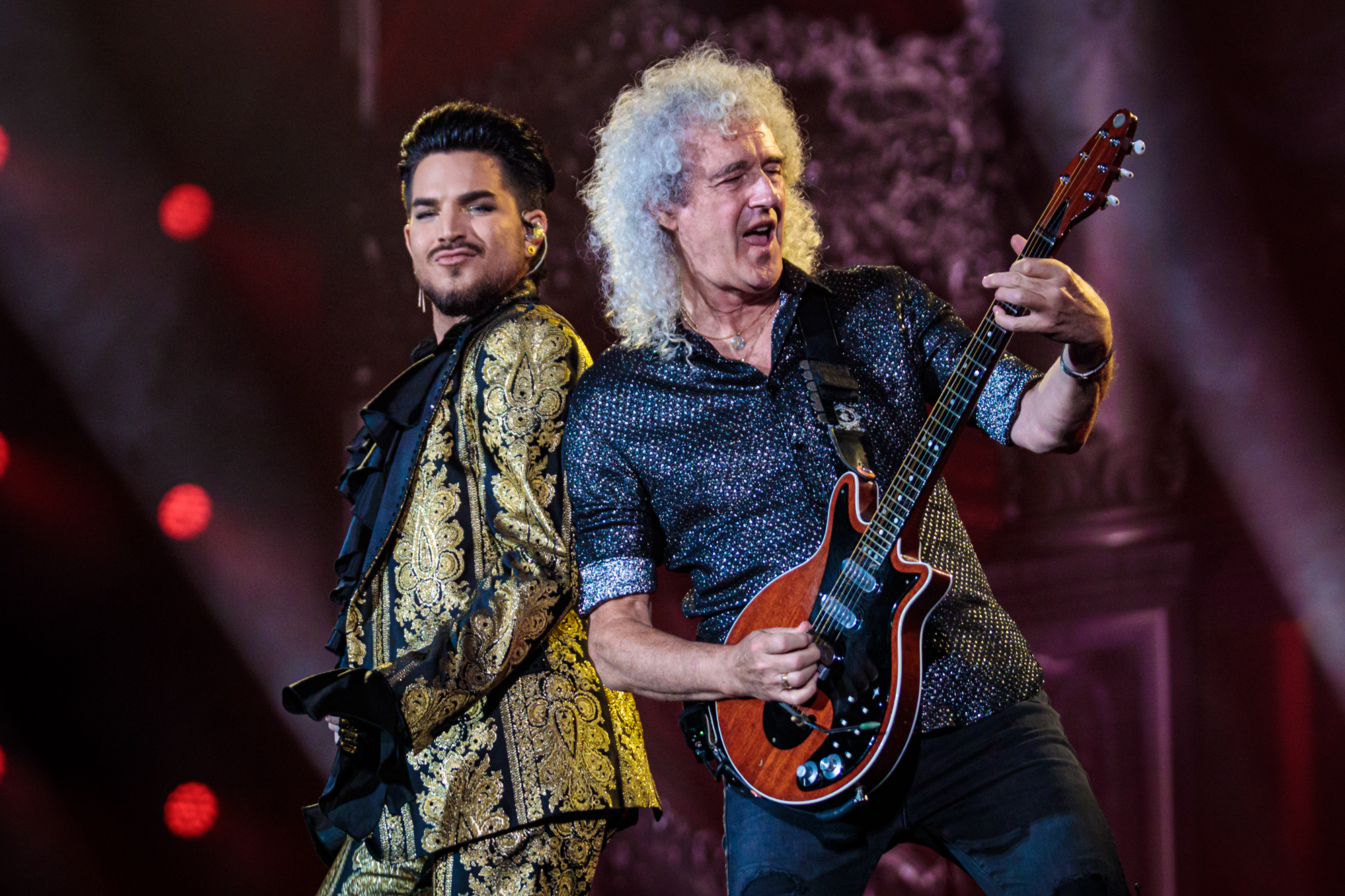 QUEEN + Adam Lambert at Global Citizen Festival