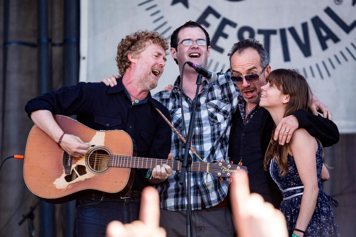 Glen Hansard w/ Elvis Costello & Jocie Adams
