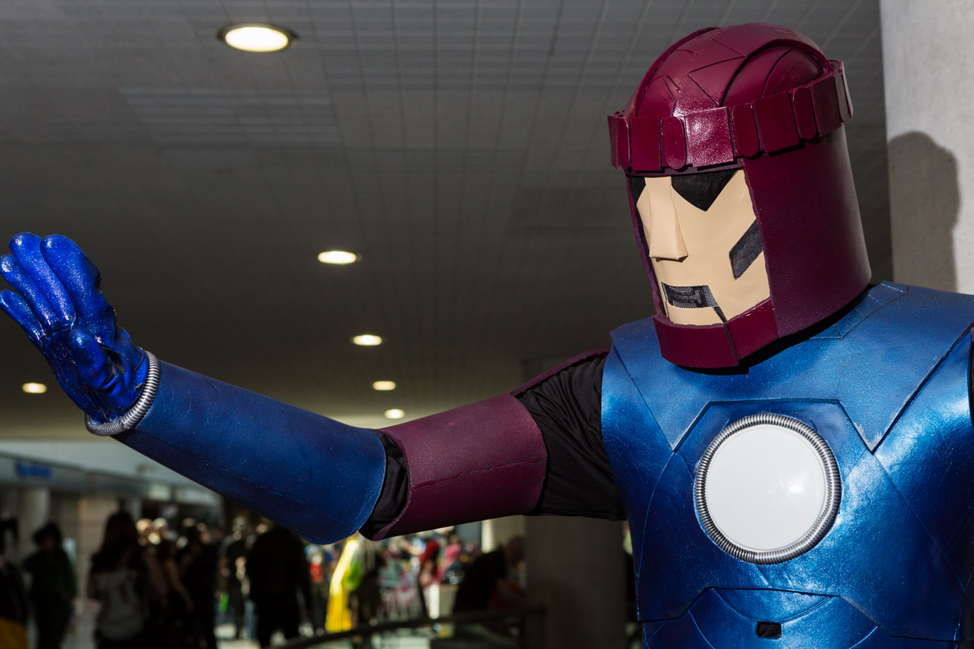 Sentinel by Detty Cosplay. New York Comic Con. Saturday October 10, 2015.